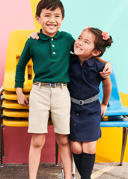 debab3e8e70796 The Uniform Shop. Best-in-class outfits they'll love to wear