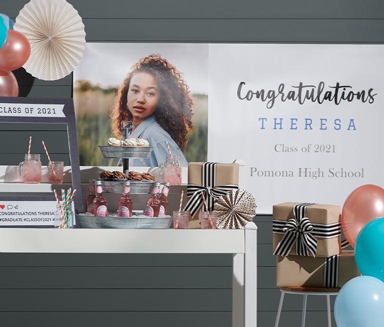 vinyl banner graduation