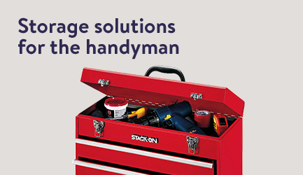 Storage solutions for the handyman.