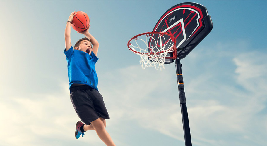 Hoop sensations. Shopping for a high-quality basketball hoop? It's a slam dunk with Lifetime's all-star lineup. Find everything from portable & in-ground, to wall-mounted, youth-sized & more.