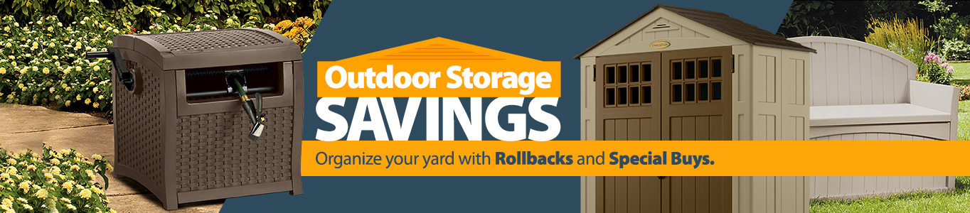 Outdoor Storage Savings