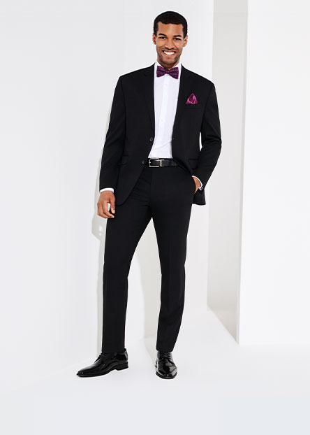 514976c06 Nail the formal look with a perfectly tailored jacket and pants. Add some  personality with