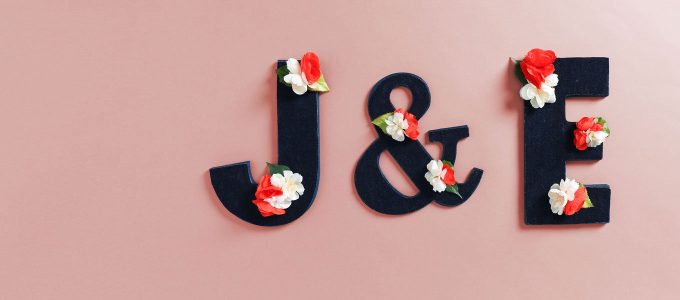 DIY: Floral & Fabric Wood Letters