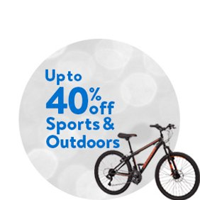 Up to 40% off Sports & Outdoors Deals. Shop Sports & Outdoors Deals