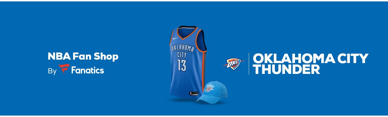Oklahoma City Thunder Team Shop