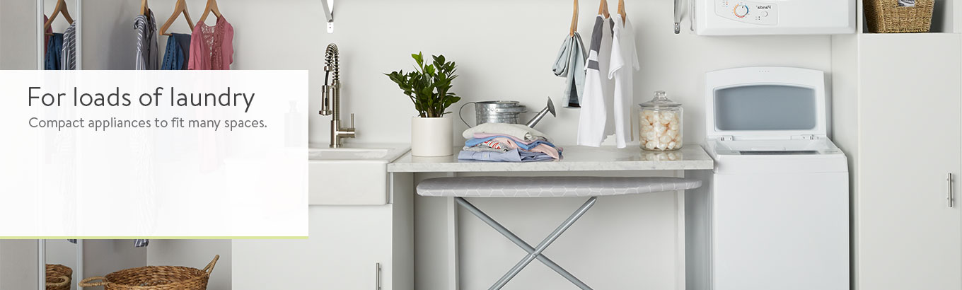 Small Apartment Living Wash Dryer Appliances - Walmart.com