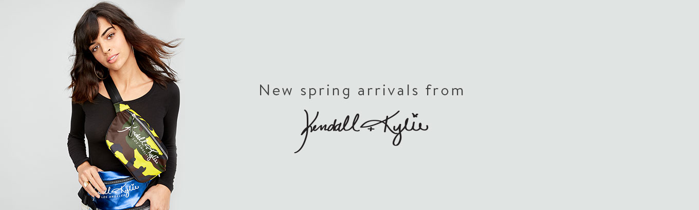 New spring arrivals from Kendall & Kylie.