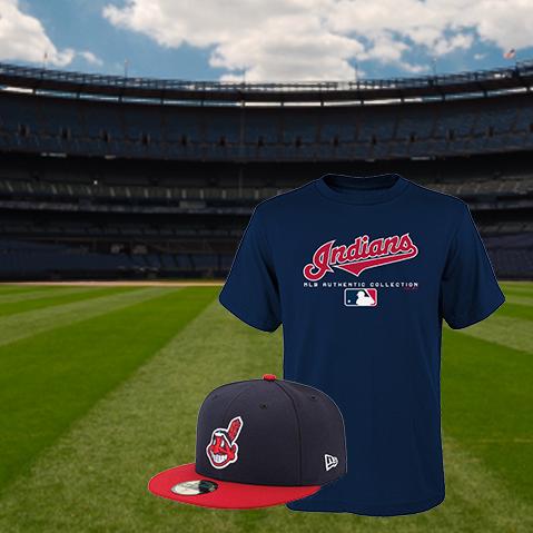 13311860 Cleveland Indians Team Shop - Walmart.com