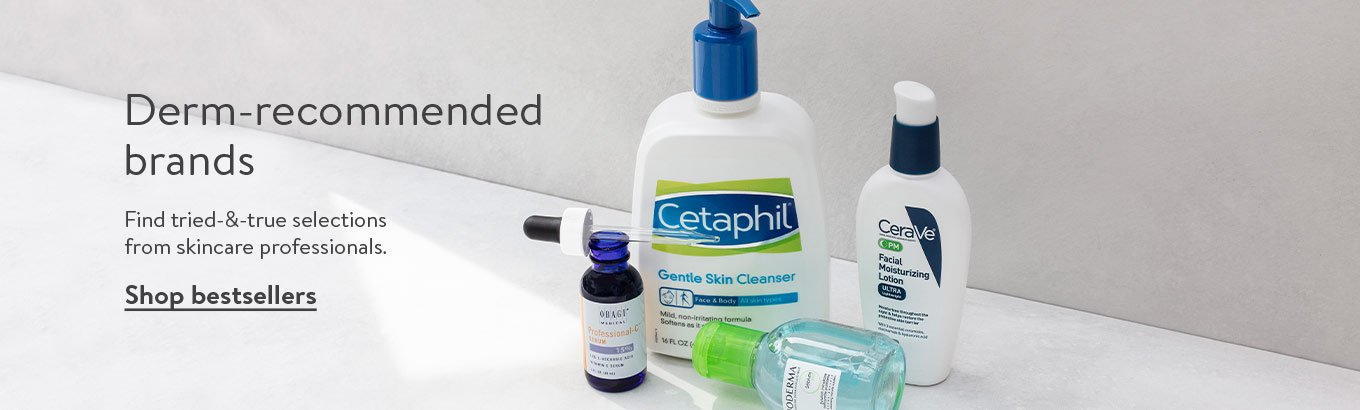Derm-recommended brands. Find tried-&-true selections from skincare professionals. Shop bestsellers.