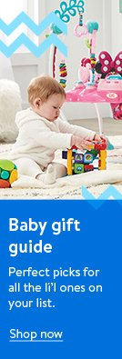 Baby gift guide. Perfect picks for all the little ones on your list. Shop now