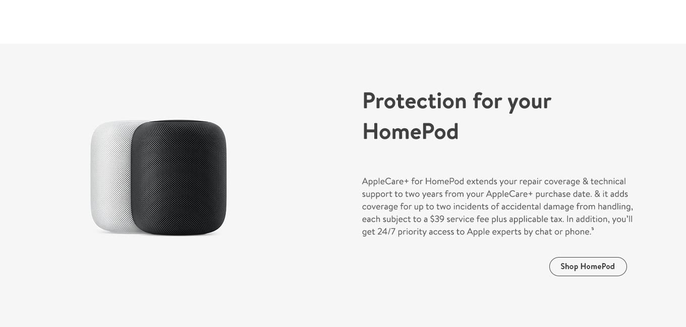 Protection for your HomePod