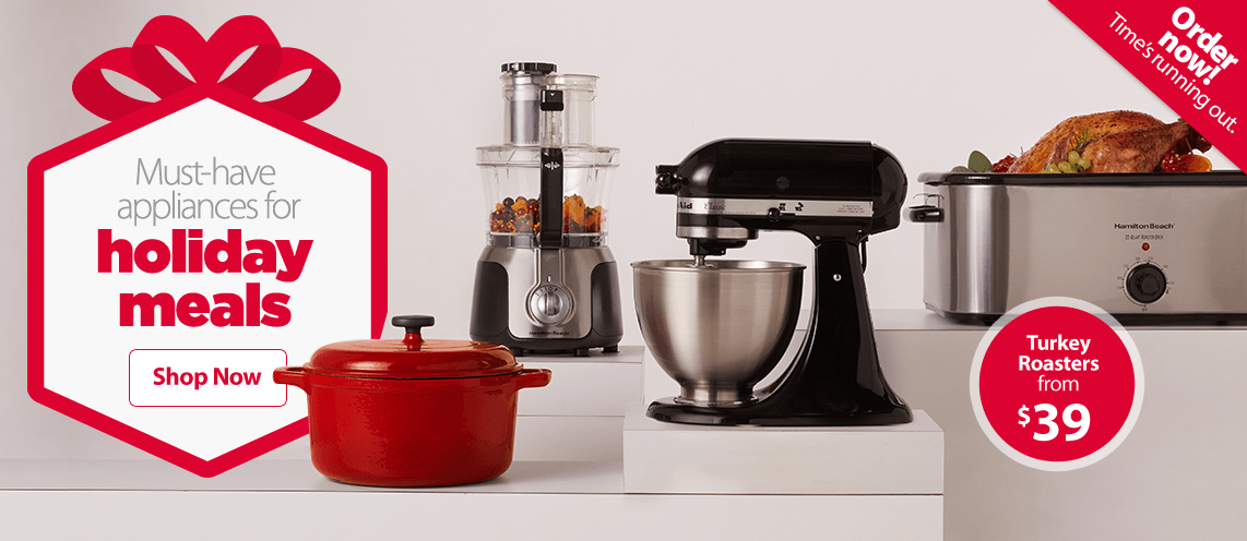 Must-have appliances for holiday meals