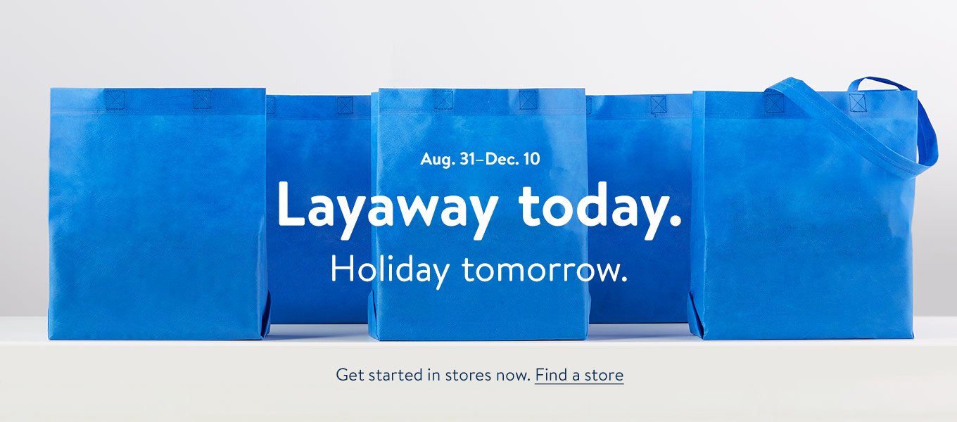 layaway - Does Walmart Close On Christmas