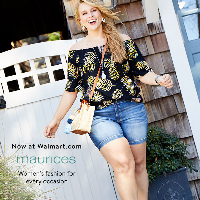be73ddae0c0 Now at Walmart.com. maurices. Women s fashion for every occasion. Chic  women s fashion in sizes ...