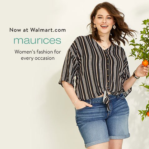 b895ce18ee76 Now at Walmart.com  maurices. Women s fashion for every occasion.