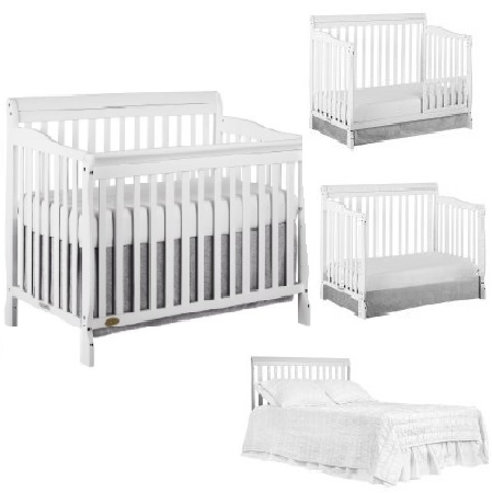 Convertible Cribs  sc 1 st  Walmart : crib tent for convertible cribs - memphite.com