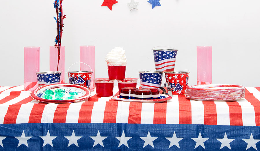 Easy, Easier, Easiest: Red, White & Blue Jell-O Treats