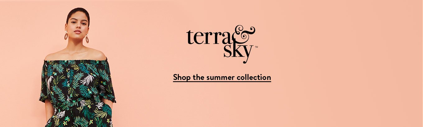 8d05c579cbc Terra & Sky. Discover the exclusive plus-size spring collection. Only at  Walmart
