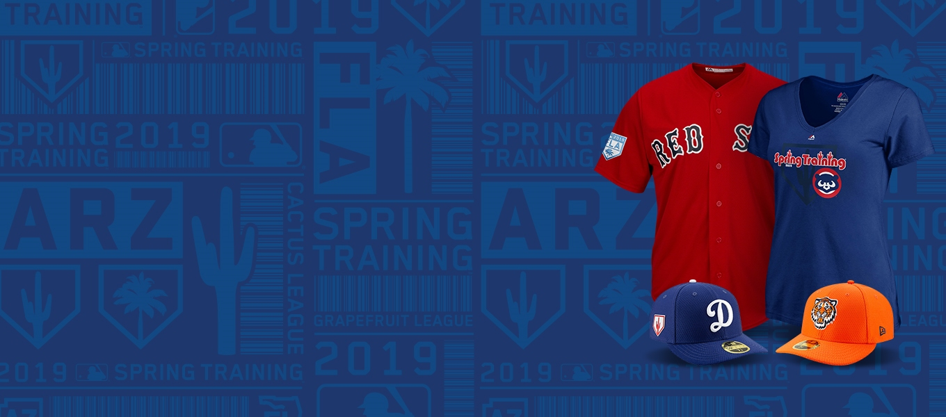 Shop official MLB 2019 spring training collection. 8c9f2e348