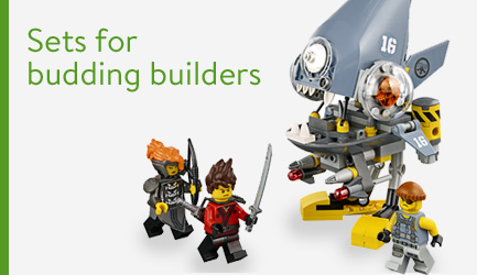 Sets for budding builders