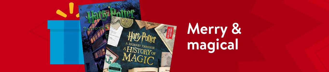 Shop Magical Harry Potter Books