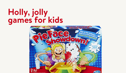 Holly, jolly games for kids