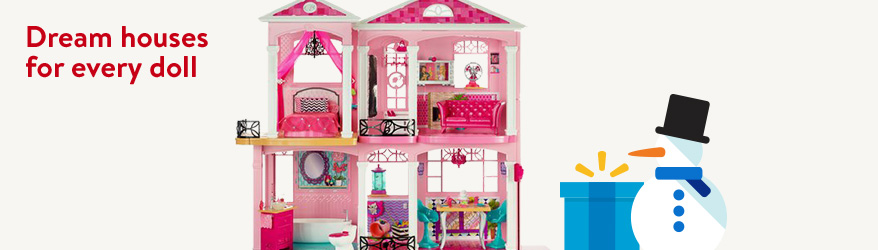 Dream houses for every doll