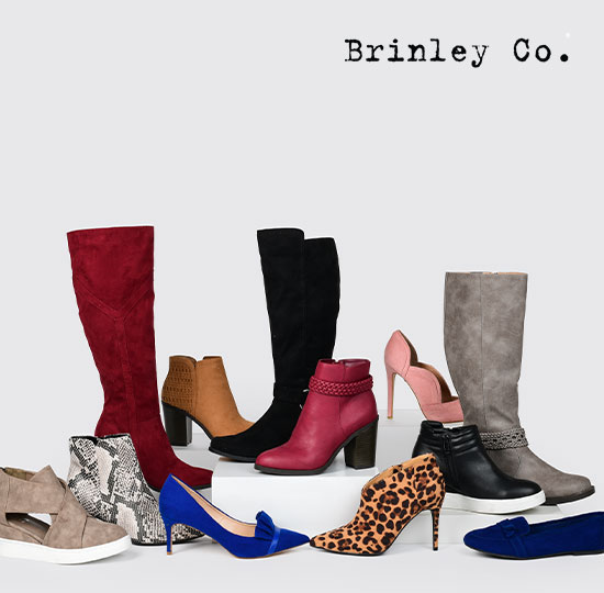Brinley Co. On-trend shoes, fab prices. Shop now.