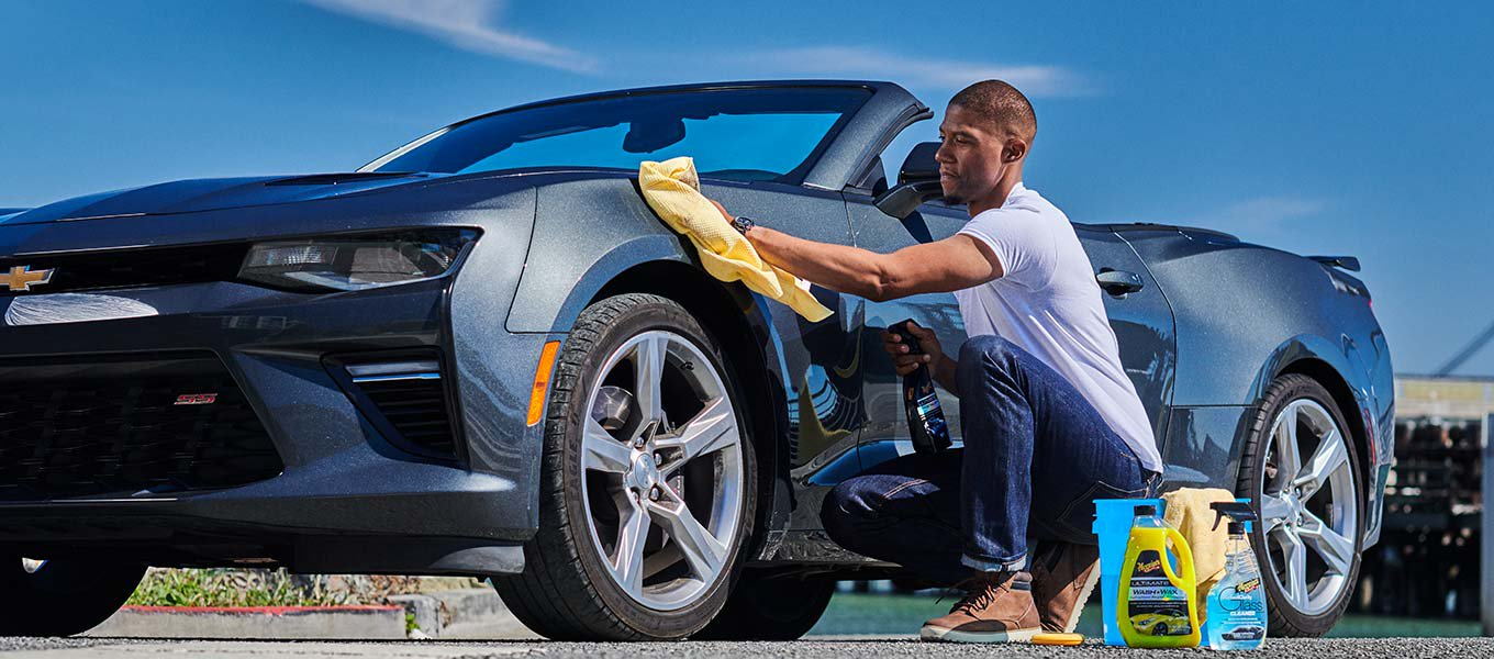 It's in the details. Keep your car looking shiny and new with detailing products.