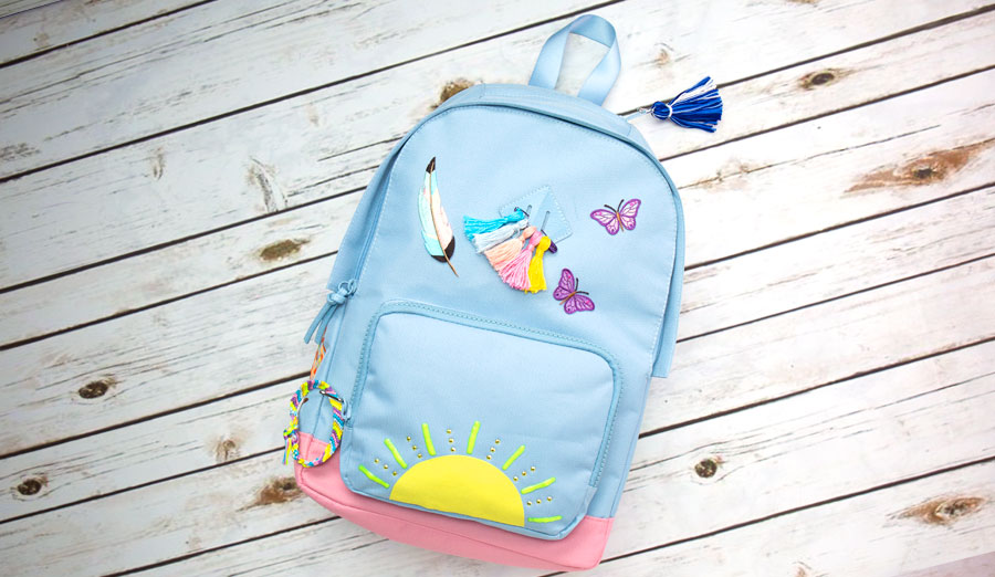 Backpack Bling: 5 Crafty Ways to Decorate Your Book Bag