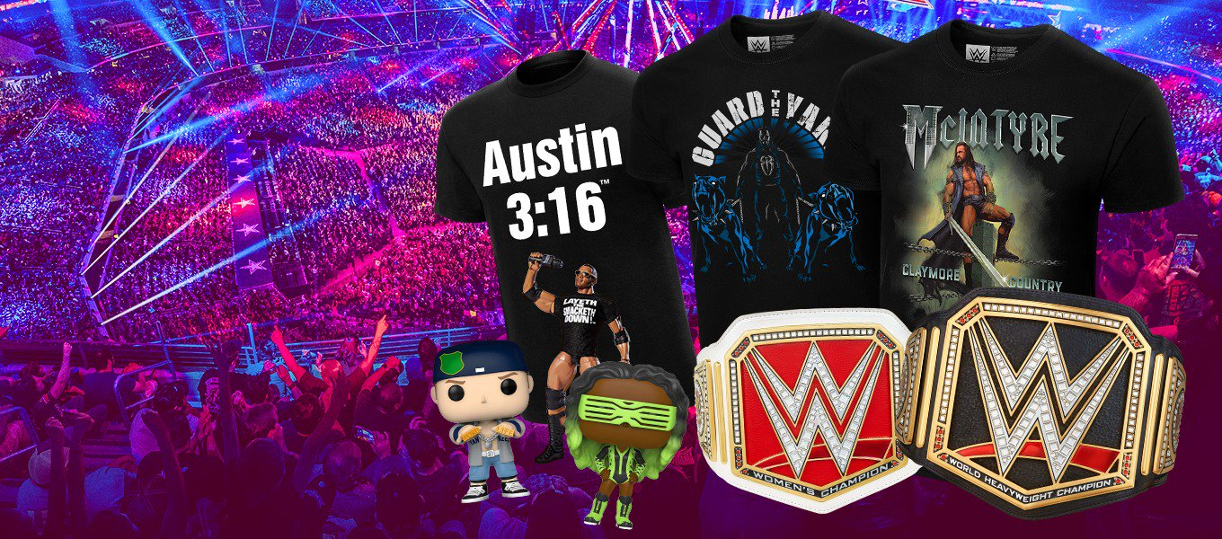 WWE Fan Shop. Shop the official 2020 WWE collection.