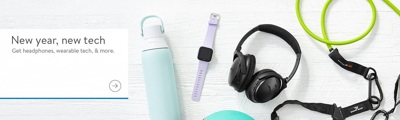 New year, new tech. Get headphones, wearable tech, and more. Shop now.