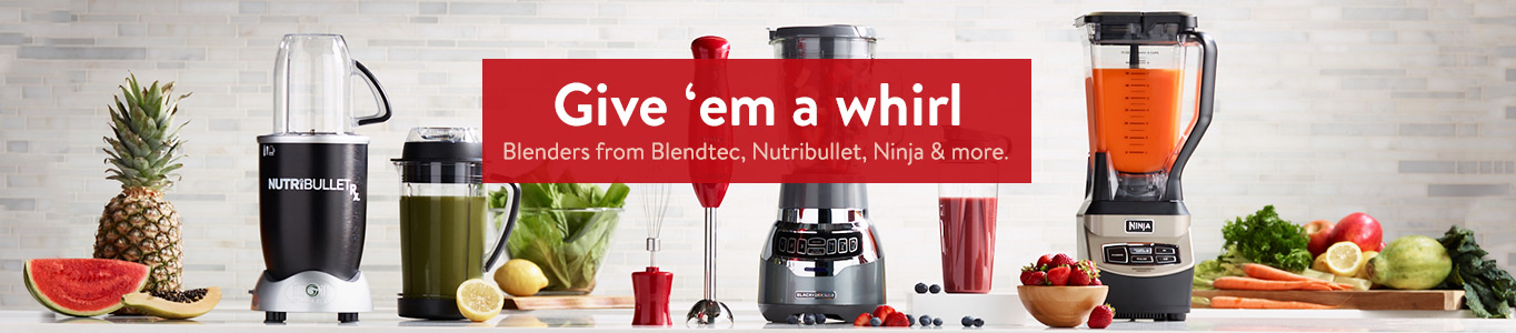 Give Them A Whirl Blenders From Blendtec Nutribullet Ninja And More