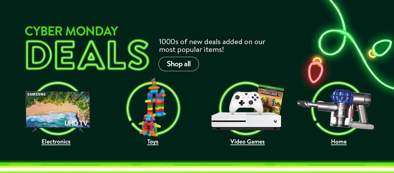 Walmart Cyber Monday Sale