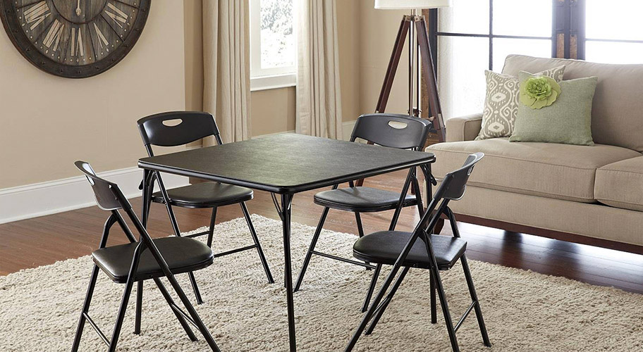 Find folding chairs and tables that make it easy to host : kitchen set table and chairs - pezcame.com