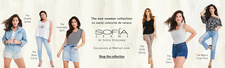 01507e40e Introducing Sofía Jeans By Sofía Vergara. Exclusively at Walmart.com. Rosa  Curvy.