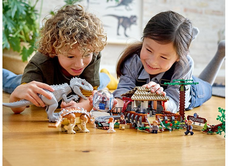 Lego® Jurassic World® Dinosaurs are back! Shop now.