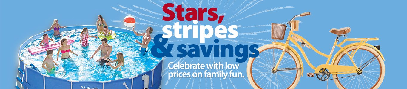 4th of July Outdoor Savings
