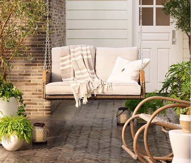 Benches Rockers Swings For A Relaxing Porch