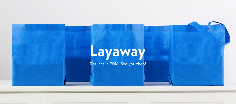 layaway walmart com