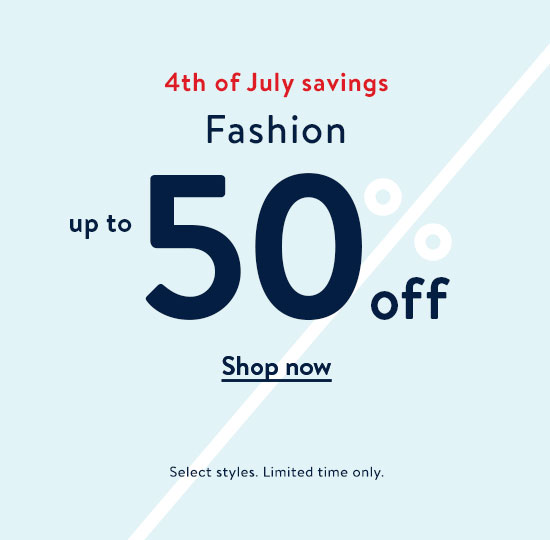 b7fdd85c89478 Fashion up to 50% off. Shop now. Select