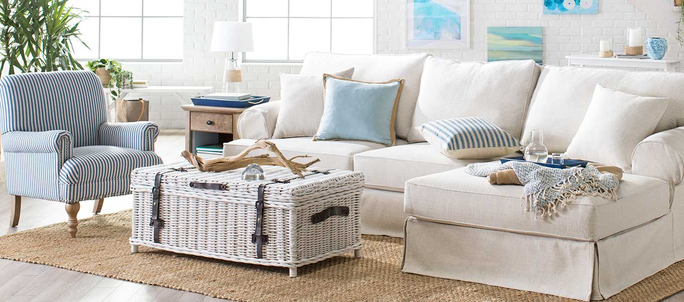 Just Beachy. Set sail for new coastal-inspired decor.