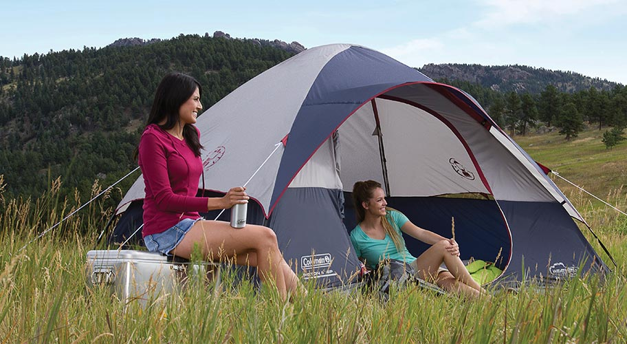Pitch perfect. Find the ideal tent for any adventure with our big selection from Coleman. Whether you're camping with the family, or planning to roam on your own, get the size & setup you need at a wildly affordable price.
