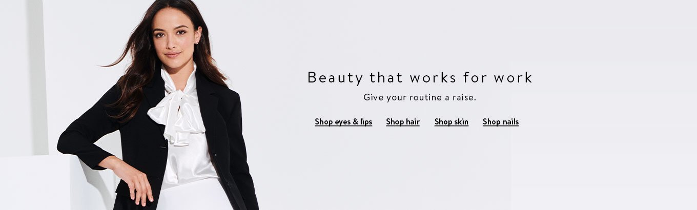 Premium Beauty - Back to work Search banner