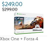 Xbox One S + Forza Horizon 4 Bundle