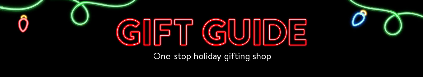 GIFT GUIDE. One-stop holiday gifting shop