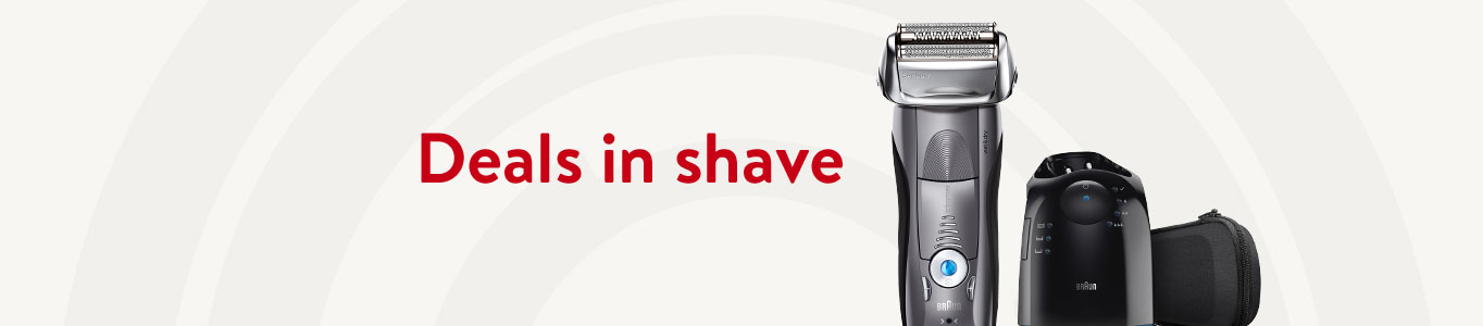 Shop deals in shave