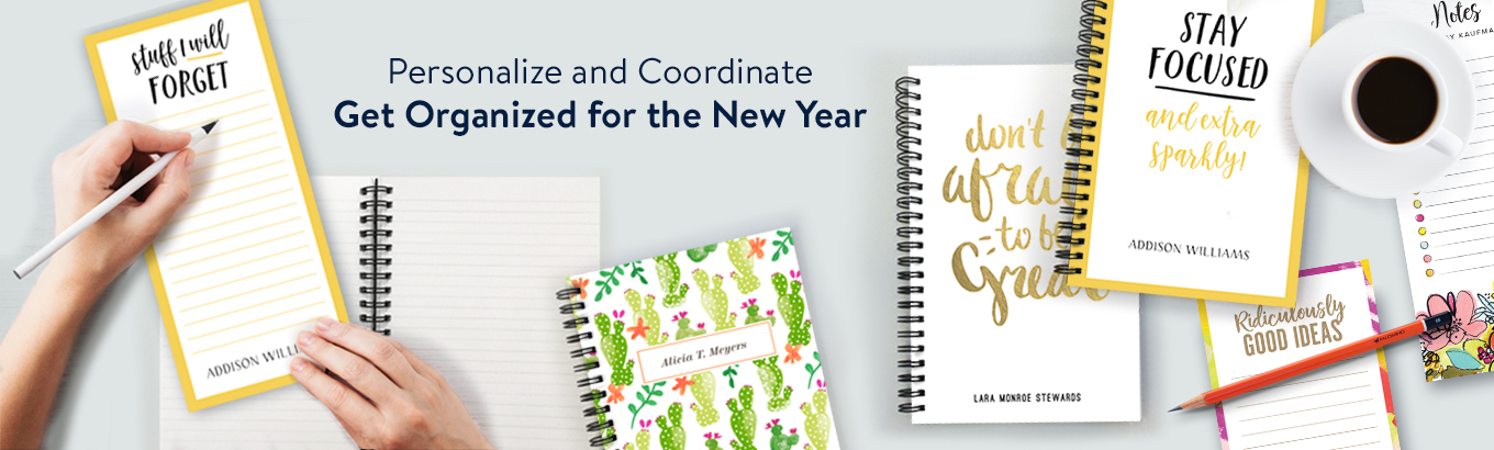 Personalized Notebooks & Notepads
