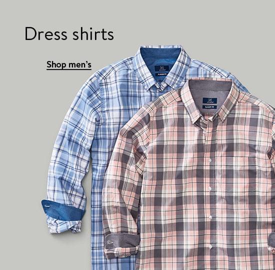 Dress shirts. Shop men's.