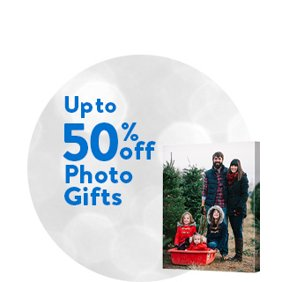 Up to 50% off Photo Gifts. Shop Photo Gift Deals